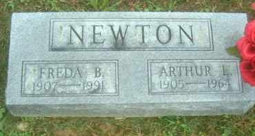 NEWTON, ARTHUR L - Athens County, Ohio | ARTHUR L NEWTON - Ohio Gravestone Photos