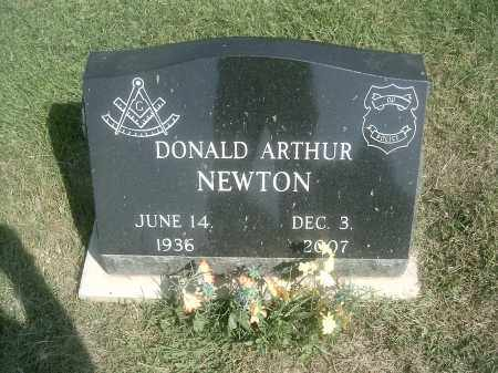 NEWTON, DONALD ARTHUR - Athens County, Ohio | DONALD ARTHUR NEWTON - Ohio Gravestone Photos