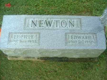 NEWTON, EDWARD - Athens County, Ohio | EDWARD NEWTON - Ohio Gravestone Photos