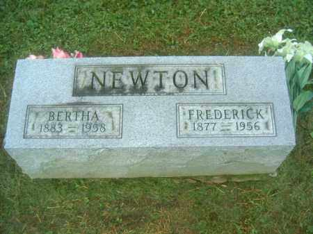 NEWTON, BERTHA - Athens County, Ohio | BERTHA NEWTON - Ohio Gravestone Photos