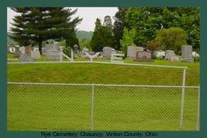 NYE, CEMETERY - Athens County, Ohio   CEMETERY NYE - Ohio Gravestone Photos