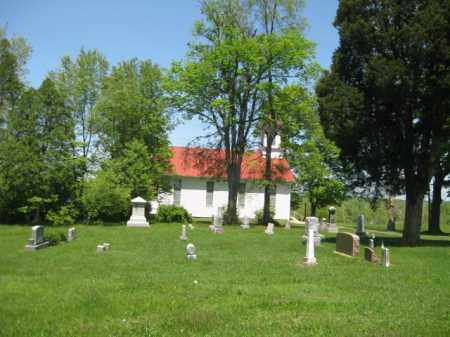 OVERVIEW, ALEXANDER-UNION/OLD CUMBERLAND CEMETERY - Athens County, Ohio | ALEXANDER-UNION/OLD CUMBERLAND CEMETERY OVERVIEW - Ohio Gravestone Photos