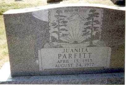 PARFITT, JUANITA - Athens County, Ohio | JUANITA PARFITT - Ohio Gravestone Photos