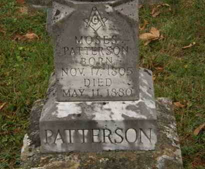 PATTERSON, MOSES - Athens County, Ohio | MOSES PATTERSON - Ohio Gravestone Photos