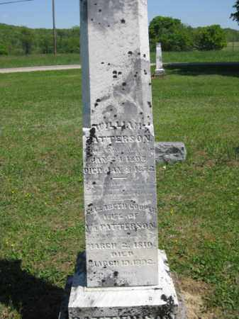 PATTERSON, ELIZABETH - Athens County, Ohio | ELIZABETH PATTERSON - Ohio Gravestone Photos