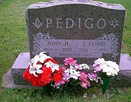 PEDIGO, J. ELOISE - Athens County, Ohio | J. ELOISE PEDIGO - Ohio Gravestone Photos