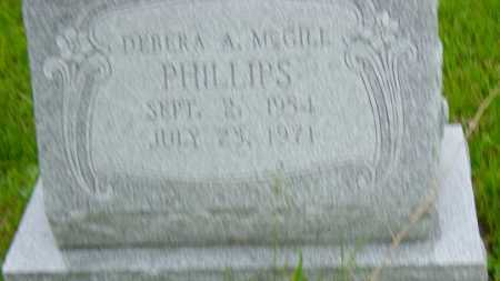 MCGILL PHILLIPS, DEBRA A. - Athens County, Ohio | DEBRA A. MCGILL PHILLIPS - Ohio Gravestone Photos