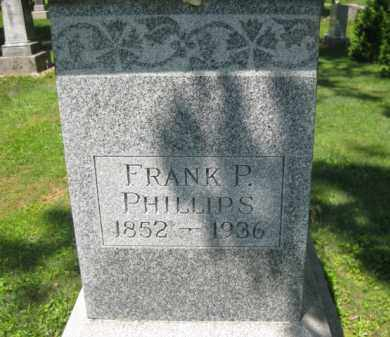 PHILLIPS, FRANK P. - Athens County, Ohio | FRANK P. PHILLIPS - Ohio Gravestone Photos