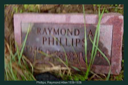 PHILLIPS, RAYMOND A - Athens County, Ohio | RAYMOND A PHILLIPS - Ohio Gravestone Photos