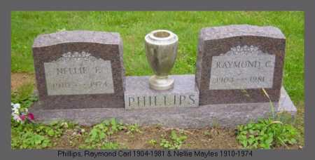 MAYLES PHILLIPS, NELLIE - Athens County, Ohio | NELLIE MAYLES PHILLIPS - Ohio Gravestone Photos