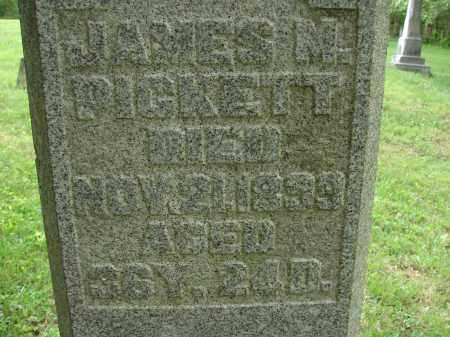 PICKETT, JAMES M. - Athens County, Ohio | JAMES M. PICKETT - Ohio Gravestone Photos