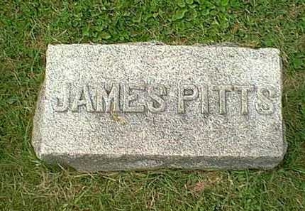 PITTS, JAMES - Athens County, Ohio | JAMES PITTS - Ohio Gravestone Photos