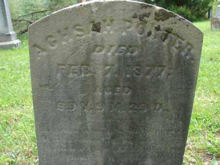 PORTER, AGHSAH - Athens County, Ohio | AGHSAH PORTER - Ohio Gravestone Photos