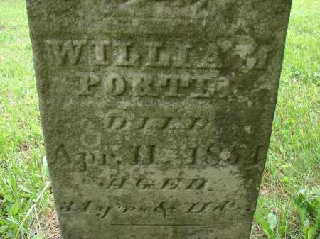PORTER, WILLIAM - Athens County, Ohio | WILLIAM PORTER - Ohio Gravestone Photos