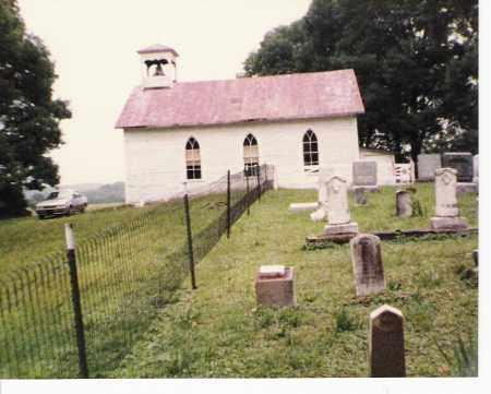 PRATT'S FORK, CHURCH & CEMETERY2 - Athens County, Ohio | CHURCH & CEMETERY2 PRATT'S FORK - Ohio Gravestone Photos