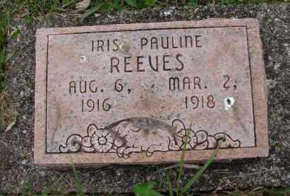 REEVES, IRIS PAULINE - Athens County, Ohio | IRIS PAULINE REEVES - Ohio Gravestone Photos