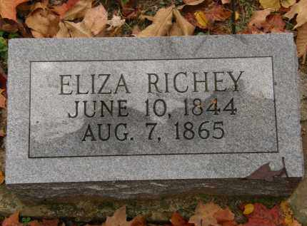 RICHEY, ELIZA - Athens County, Ohio | ELIZA RICHEY - Ohio Gravestone Photos