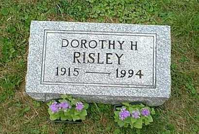 THOMPSON RISLEY, DOROTHY H. - Athens County, Ohio | DOROTHY H. THOMPSON RISLEY - Ohio Gravestone Photos