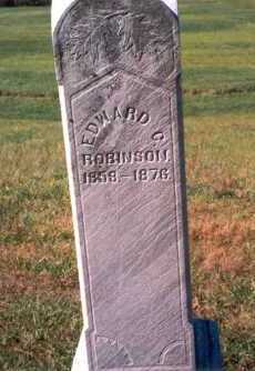 ROBINSON, EDWARD C. - Athens County, Ohio | EDWARD C. ROBINSON - Ohio Gravestone Photos