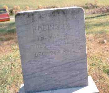 ROBINSON, THOMAS J. - Athens County, Ohio | THOMAS J. ROBINSON - Ohio Gravestone Photos