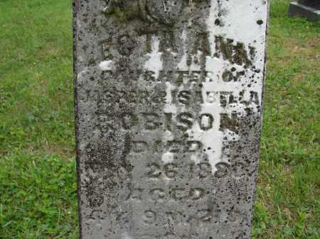 ROBISON, ECTA ANN - Athens County, Ohio | ECTA ANN ROBISON - Ohio Gravestone Photos