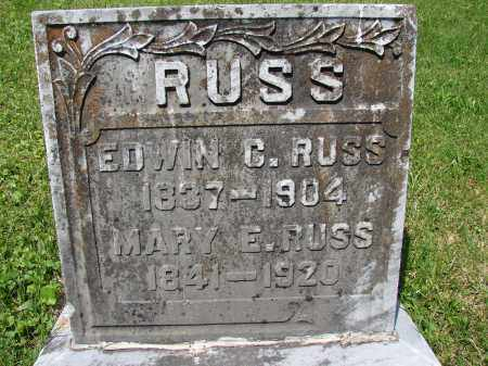 RUSS, MARY E. - Athens County, Ohio | MARY E. RUSS - Ohio Gravestone Photos