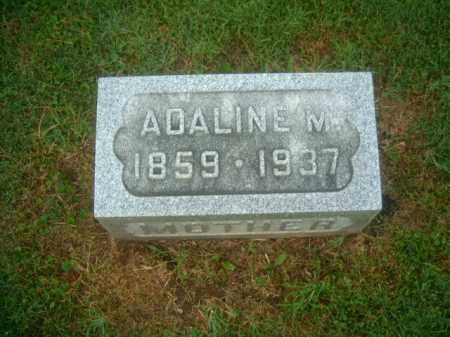 SANDERS, ADALINE M - Athens County, Ohio | ADALINE M SANDERS - Ohio Gravestone Photos
