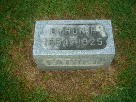 SANDERS, BYRON - Athens County, Ohio | BYRON SANDERS - Ohio Gravestone Photos