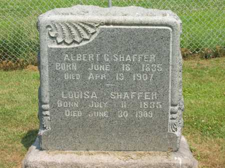 SHAFFER, ALBERT - Athens County, Ohio | ALBERT SHAFFER - Ohio Gravestone Photos