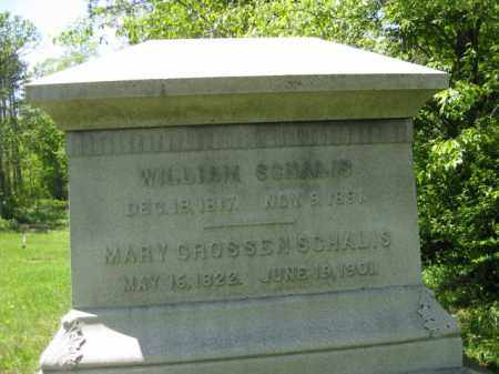 SCHALIS, WILLIAM - Athens County, Ohio | WILLIAM SCHALIS - Ohio Gravestone Photos