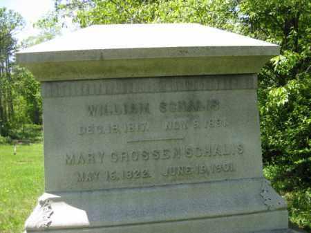 SCHALIS, WILLIAM - Athens County, Ohio | WILLIAM SCHALIS - Ohio Gravestone Photos