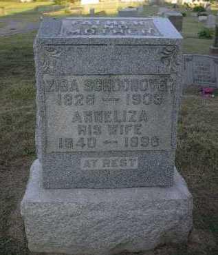 SCHOONOVER, ANNELIZA - Athens County, Ohio | ANNELIZA SCHOONOVER - Ohio Gravestone Photos