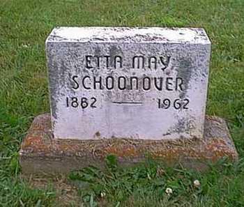 SCHOONOVER, ETTA MAY - Athens County, Ohio | ETTA MAY SCHOONOVER - Ohio Gravestone Photos