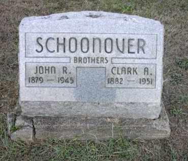 SCHOONOVER, JOHN R. - Athens County, Ohio | JOHN R. SCHOONOVER - Ohio Gravestone Photos