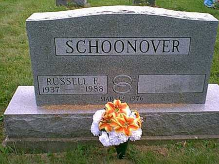 "SCHOONOVER, RUSSELL EUGENE  ""GENE"" - Athens County, Ohio 