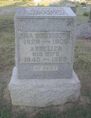 SCHOONOVER, ZIBA - Athens County, Ohio | ZIBA SCHOONOVER - Ohio Gravestone Photos