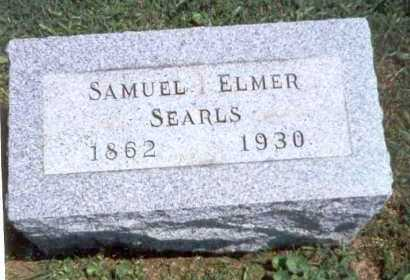 SEARLS, SAMUEL ELMER - Athens County, Ohio | SAMUEL ELMER SEARLS - Ohio Gravestone Photos