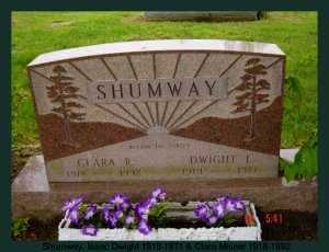 SHUMWAY, DWIGHT E. - Athens County, Ohio | DWIGHT E. SHUMWAY - Ohio Gravestone Photos