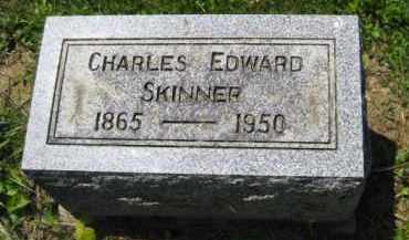 SKINNER, CHARLES EDWARD - Athens County, Ohio | CHARLES EDWARD SKINNER - Ohio Gravestone Photos