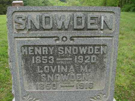 SNOWDEN, LOVINA M. - Athens County, Ohio | LOVINA M. SNOWDEN - Ohio Gravestone Photos