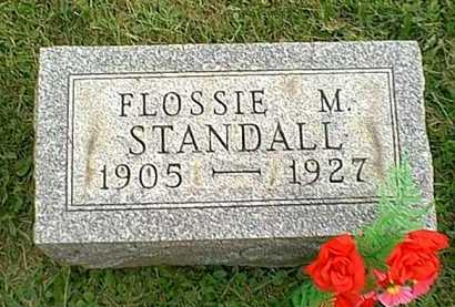 STANDALL, FLOSSIE M. - Athens County, Ohio | FLOSSIE M. STANDALL - Ohio Gravestone Photos