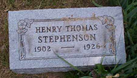 STEPHENSON, HENRY THOMAS - Athens County, Ohio | HENRY THOMAS STEPHENSON - Ohio Gravestone Photos