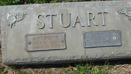STUART, ARTHUR T. - Athens County, Ohio | ARTHUR T. STUART - Ohio Gravestone Photos