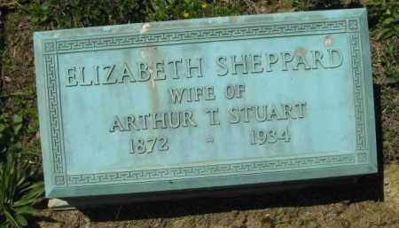 SHEPPARD STUART, ELIZABETH - Athens County, Ohio | ELIZABETH SHEPPARD STUART - Ohio Gravestone Photos