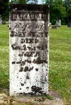 SWETT, ELIZABETH WALES - Athens County, Ohio | ELIZABETH WALES SWETT - Ohio Gravestone Photos