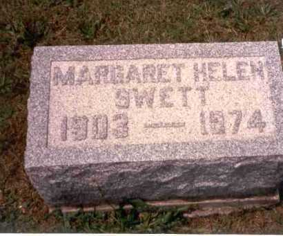 SWETT, MARGARET HELEN - Athens County, Ohio | MARGARET HELEN SWETT - Ohio Gravestone Photos