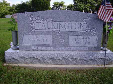 "TALKINGTON, J.L. ""JACK"" - Athens County, Ohio 