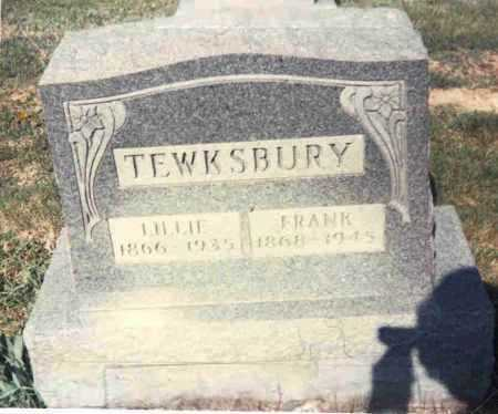 TEWKSBURY, FRANK - Athens County, Ohio | FRANK TEWKSBURY - Ohio Gravestone Photos