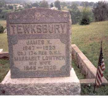 TEWKSBURY, JAMES N - Athens County, Ohio | JAMES N TEWKSBURY - Ohio Gravestone Photos