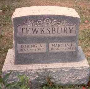 SISSON TEWKSBURY, MARTHA J. - Athens County, Ohio | MARTHA J. SISSON TEWKSBURY - Ohio Gravestone Photos